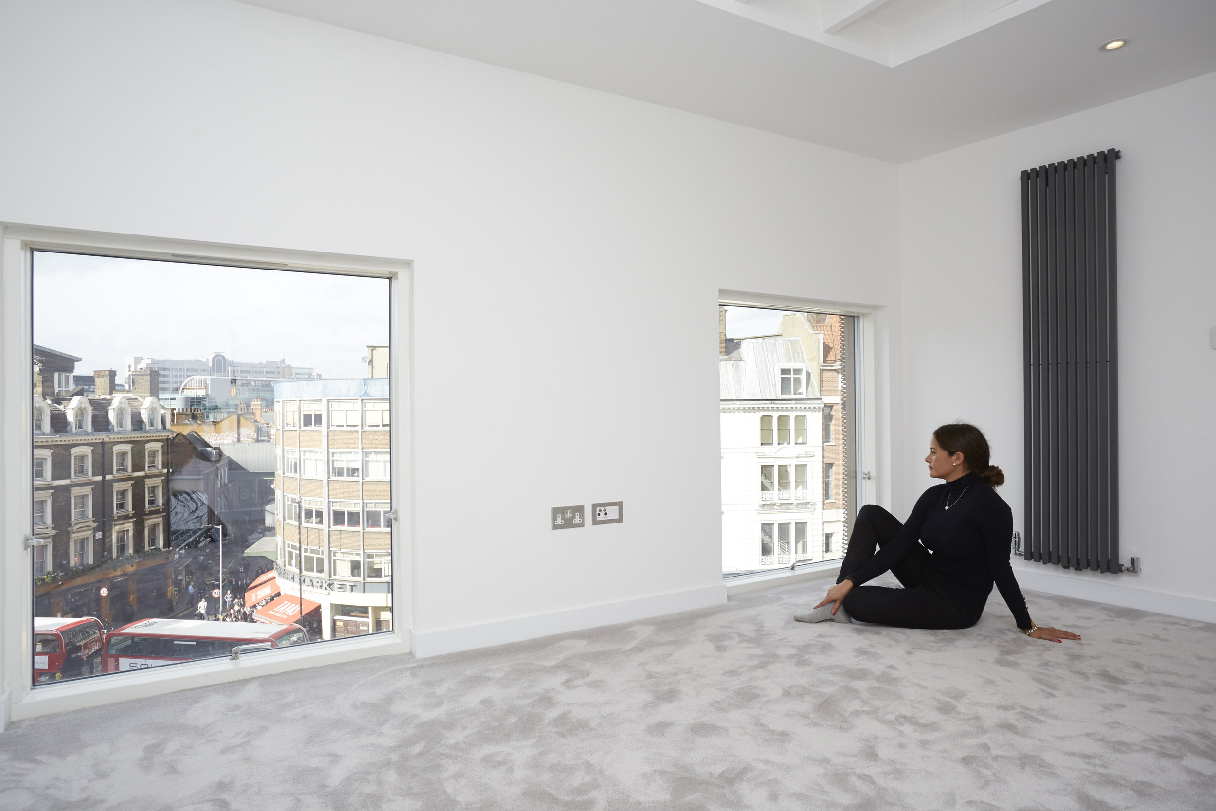 fletcher crane architects, bedroom, borough high street, modern architecture, cork, apartments