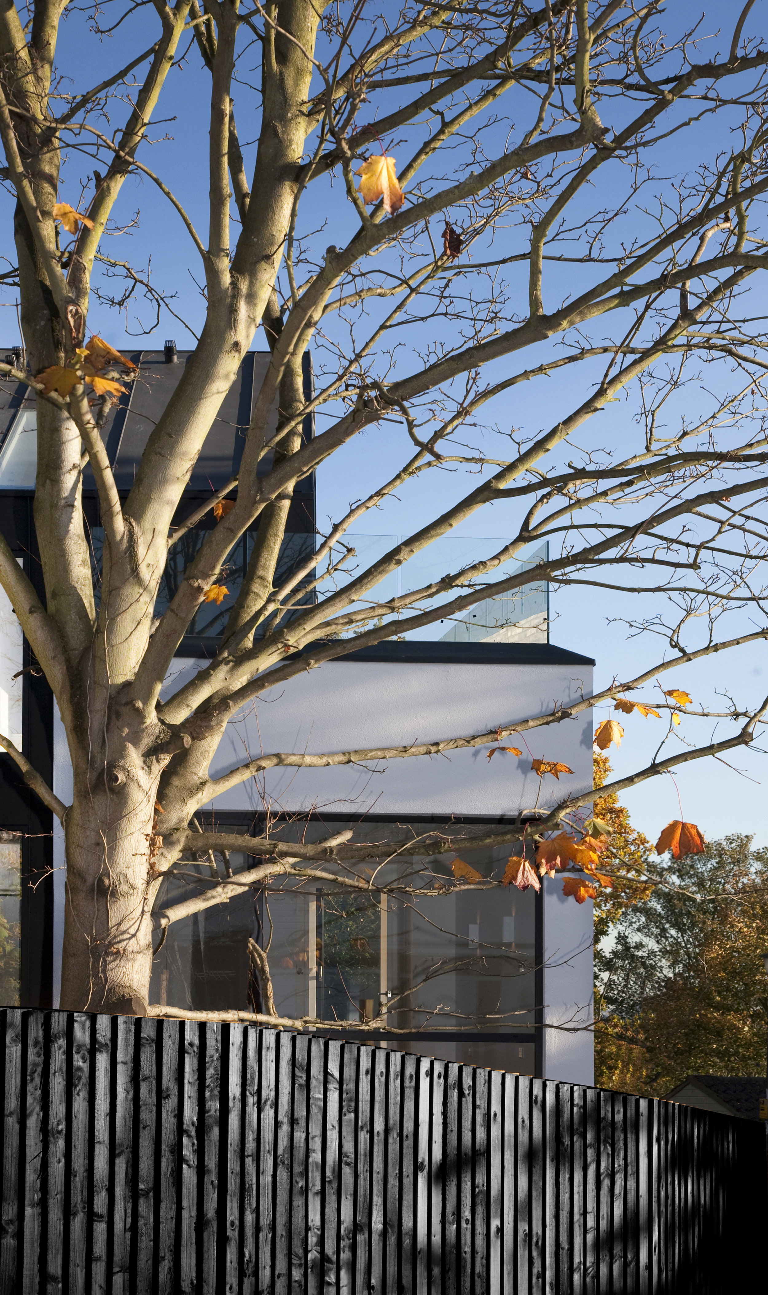 Modern Contemporary Architect House Wimbledon London Composition Zinc Cladding