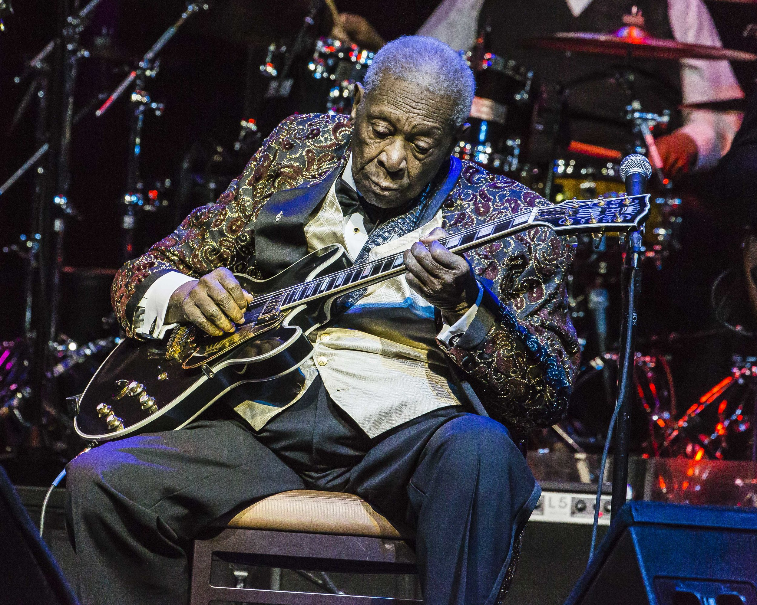 Photography BB King for the East Valley Tribune in 2013 was one of my career highlights; no cell phone could have mimicked this. (C) Miachelle DePiano