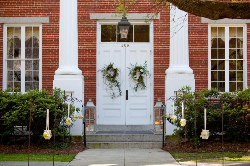 Winyah Indigo Hall - entry