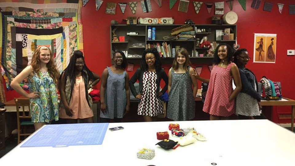 ArtPlace Sewing Class Fall 2016