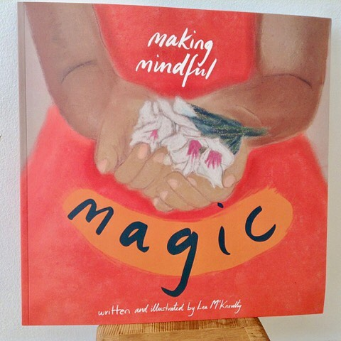 Thank you Lea McKnoulty for sending me your exquisite book Making Mindful Magic!  I recommend this book to everyone young and old, and in particular to kids yoga and mindfulness teachers.  Each page beautifully illustrated and paired with a perfect mindful meditation.  This book gem is a perfect tool for the class room and can be used in a multitude of ways.  Bravo Lea!👏👏👏 @kidsyoga @yogaforyoungpeople @kidsmeditation @mindfulnesskids @mindfulness @yoga @nature @kidsbooks @smelltheflowers @leamcknoulty