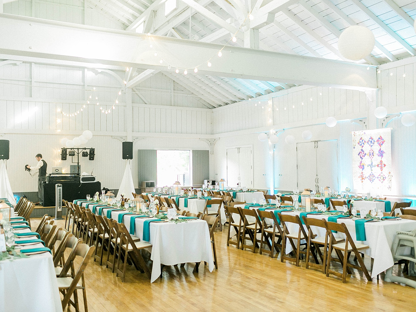 Olin Park Pavillion - It's a white barn (which means gorgeous light for your photos and your dancing photos too!)It fits approximately 100 guests and has STUNNING views of Mendota Lake. It is gorgeous and I could not recommend it enough!