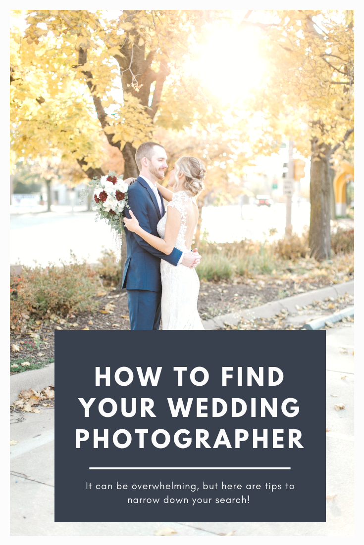 how to find your wedding photographer