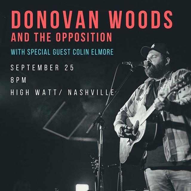 comin at ya 9/25 with the man @donovanwoods