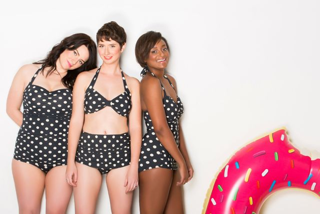 "Photo from "" Employees Of All Sizes Model ModCloth's New Swimsuit Line "" on    Refinery29  +  Mod Cloth ."
