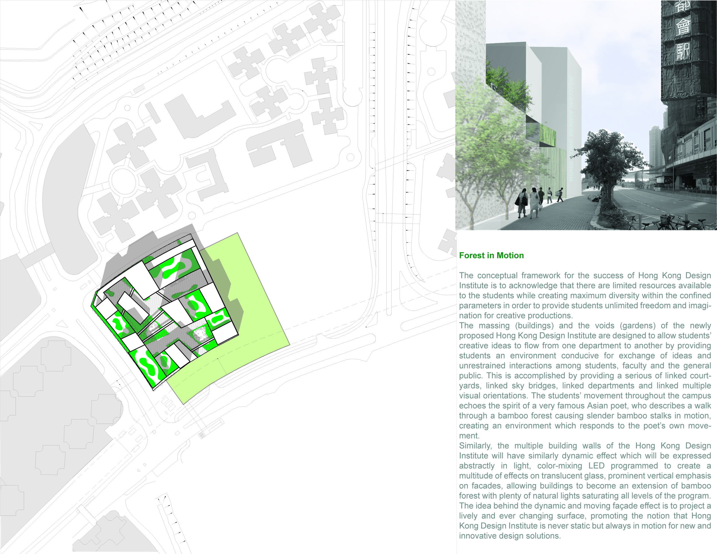 international competition for the hong kong design institute  collaboration w/ euk kwon