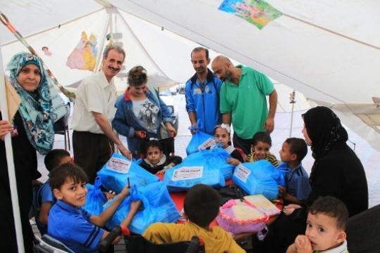 Monday DEC. 1ST        Help Gaza's    Neediest Children   with   School