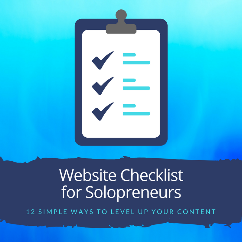 WebsiteChecklistSolopreneurs
