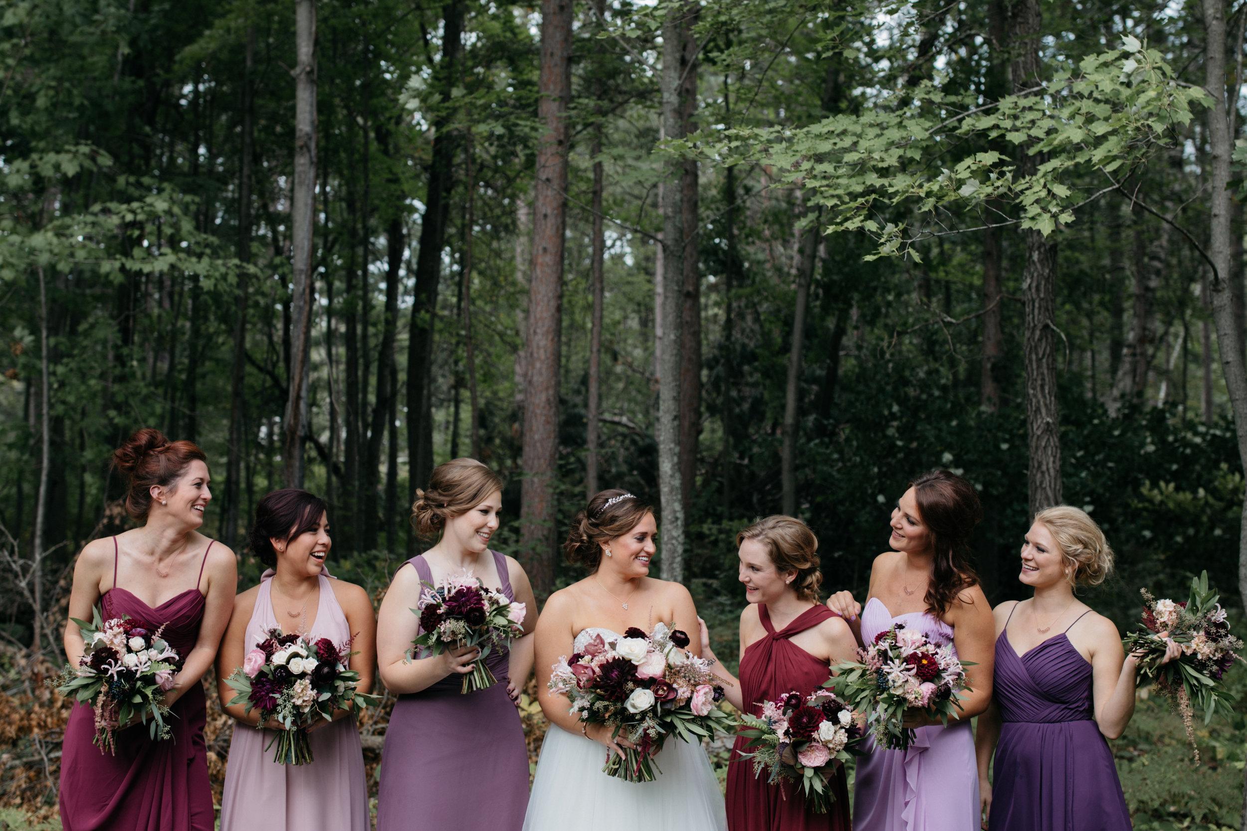 Stunning summer wedding at Grand View Lodge, photography by Britt DeZeeuw