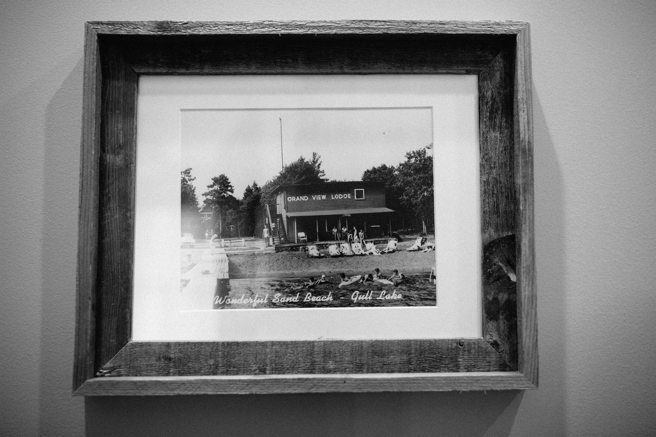 Historic Grand View Lodge summer wedding.