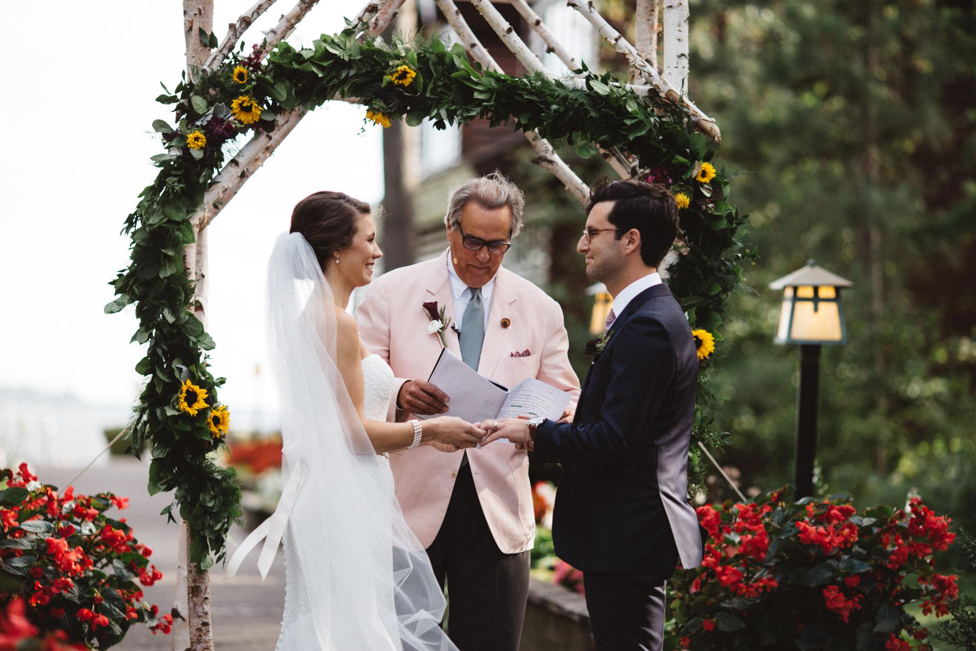 Photojournalistic wedding photography at Grand View by Britt DeZeeuw, Brainerd Minnesota photographer.