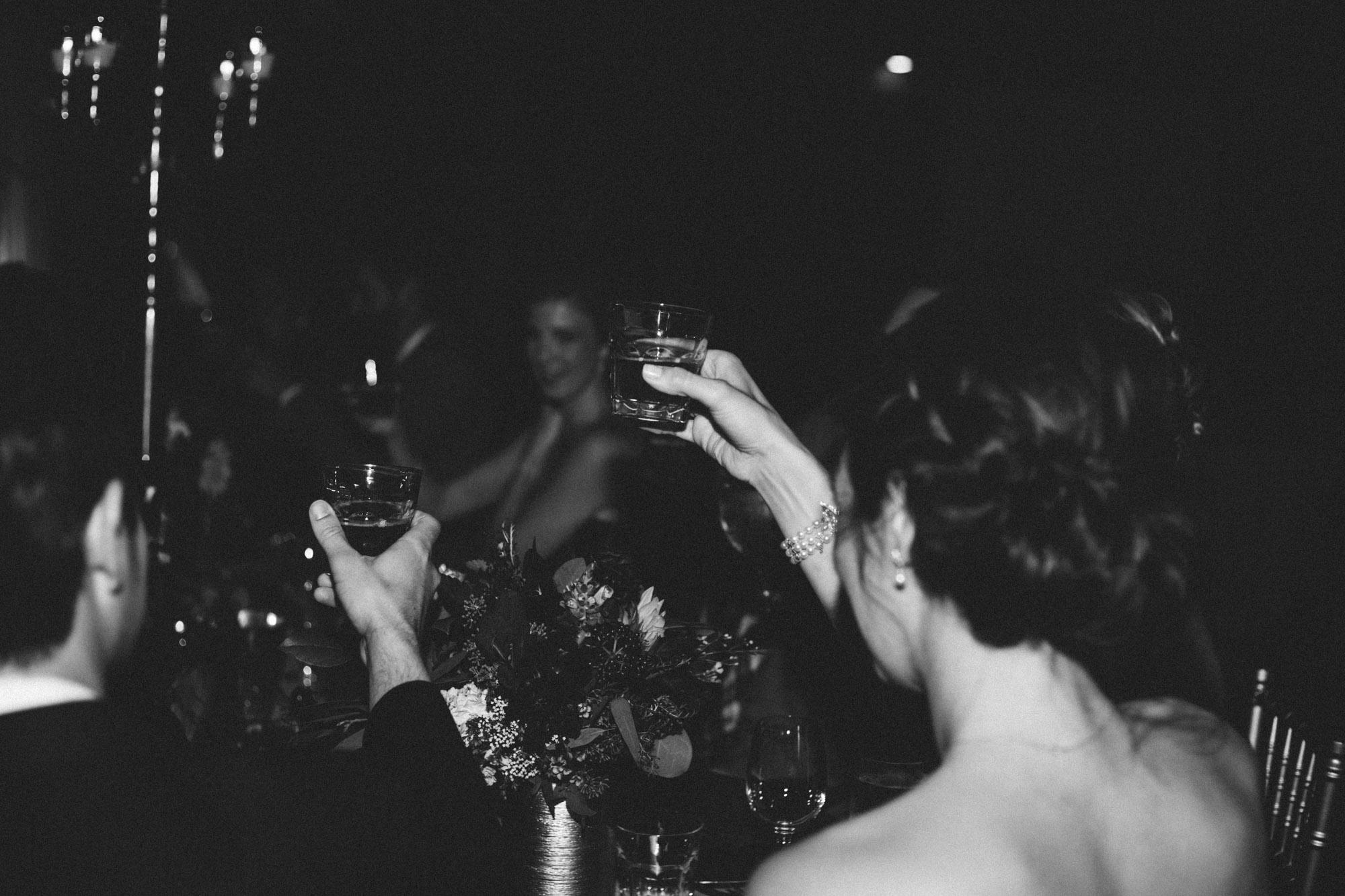 Journalist wedding reception photography at Grand View Lodge by Britt DeZeeuw