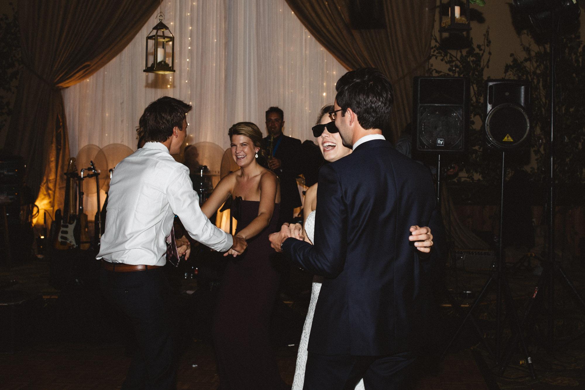 Unposed dance photos at Grand View Lodge wedding, photography by Britt DeZeeuw
