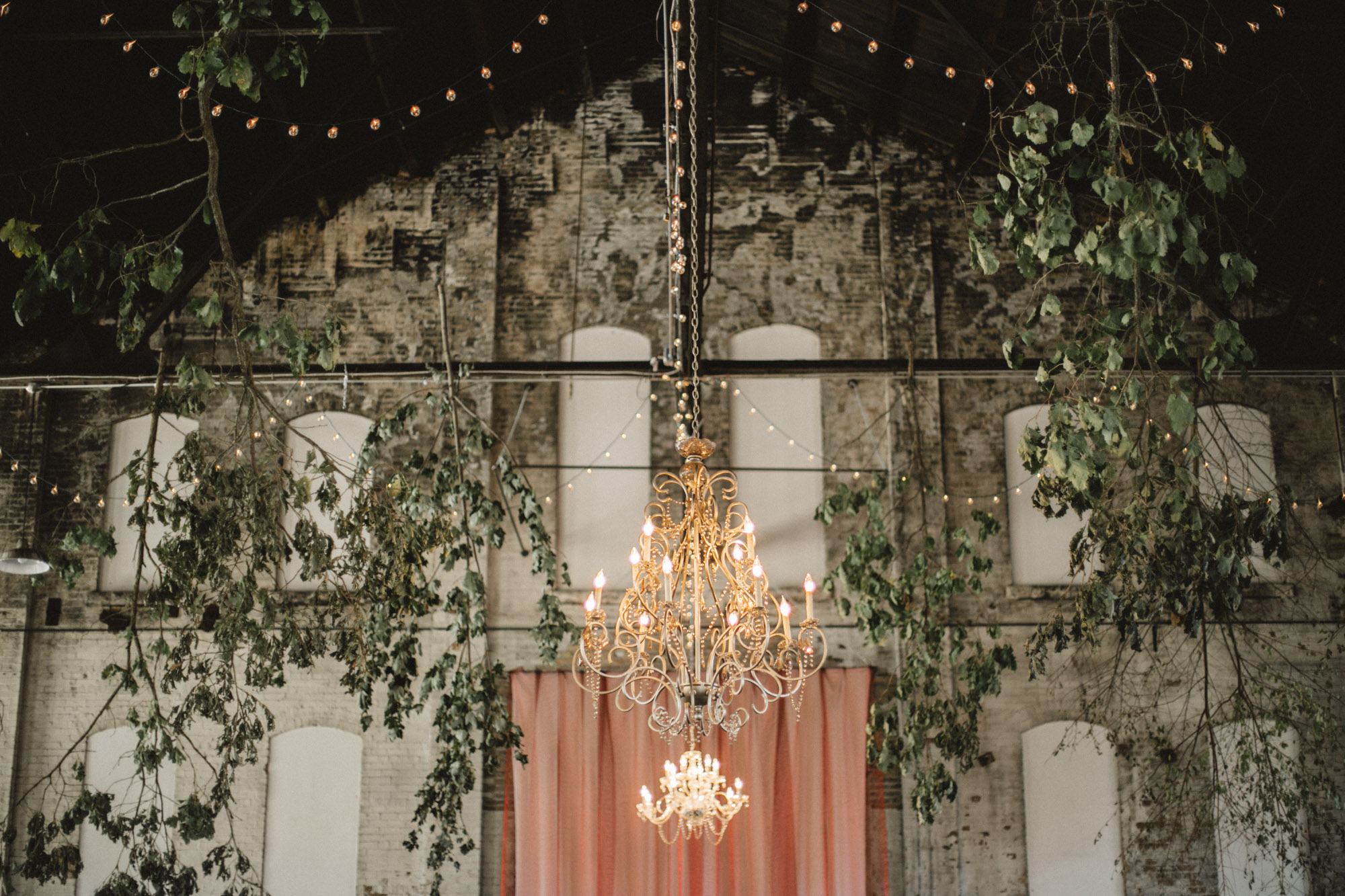 NP Event Space industrial chic wedding, photography by Britt DeZeeuw