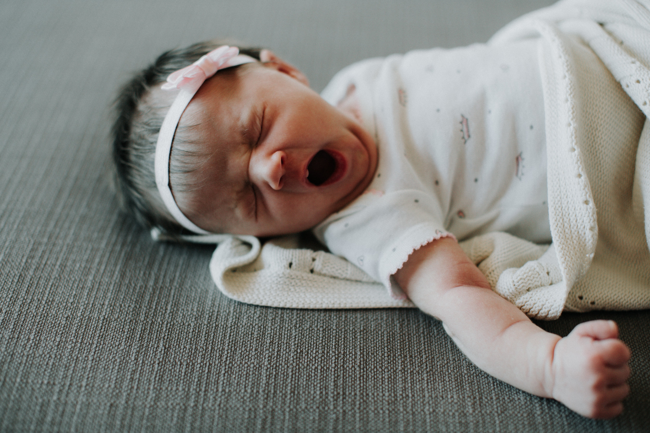 Newborn lifestyle session photographed by Brainerd Minnesota family photographer Britt DeZeeuw