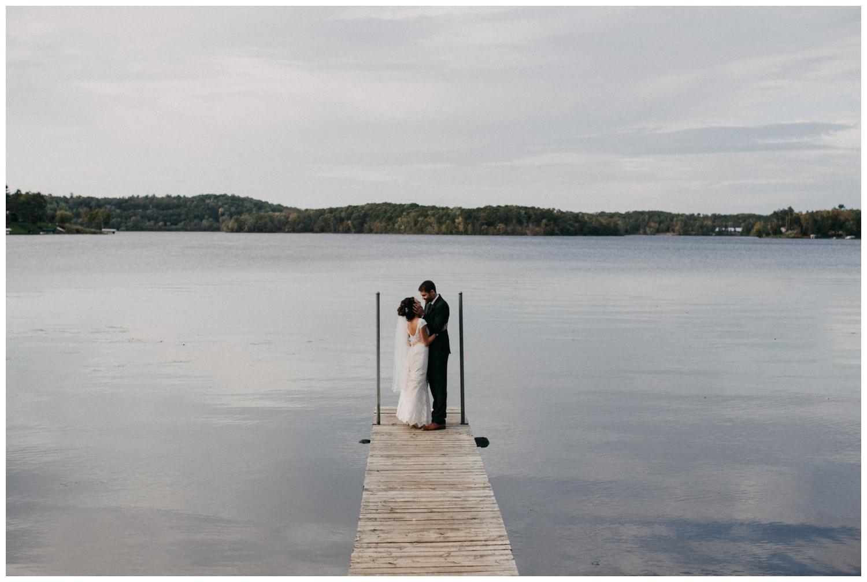Intimate Brainerd Minnesota lakeside wedding photographed by Britt DeZeeuw