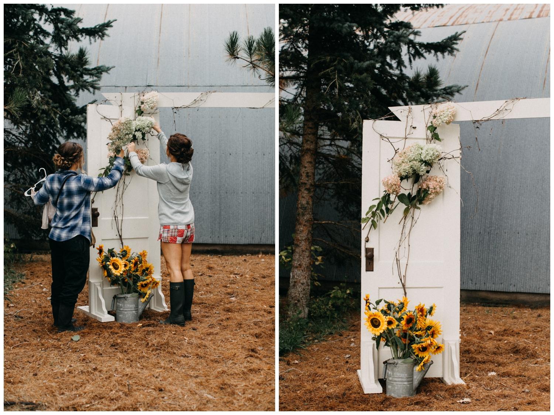 DIY rustic chic barn wedding in Brainerd Minnesota