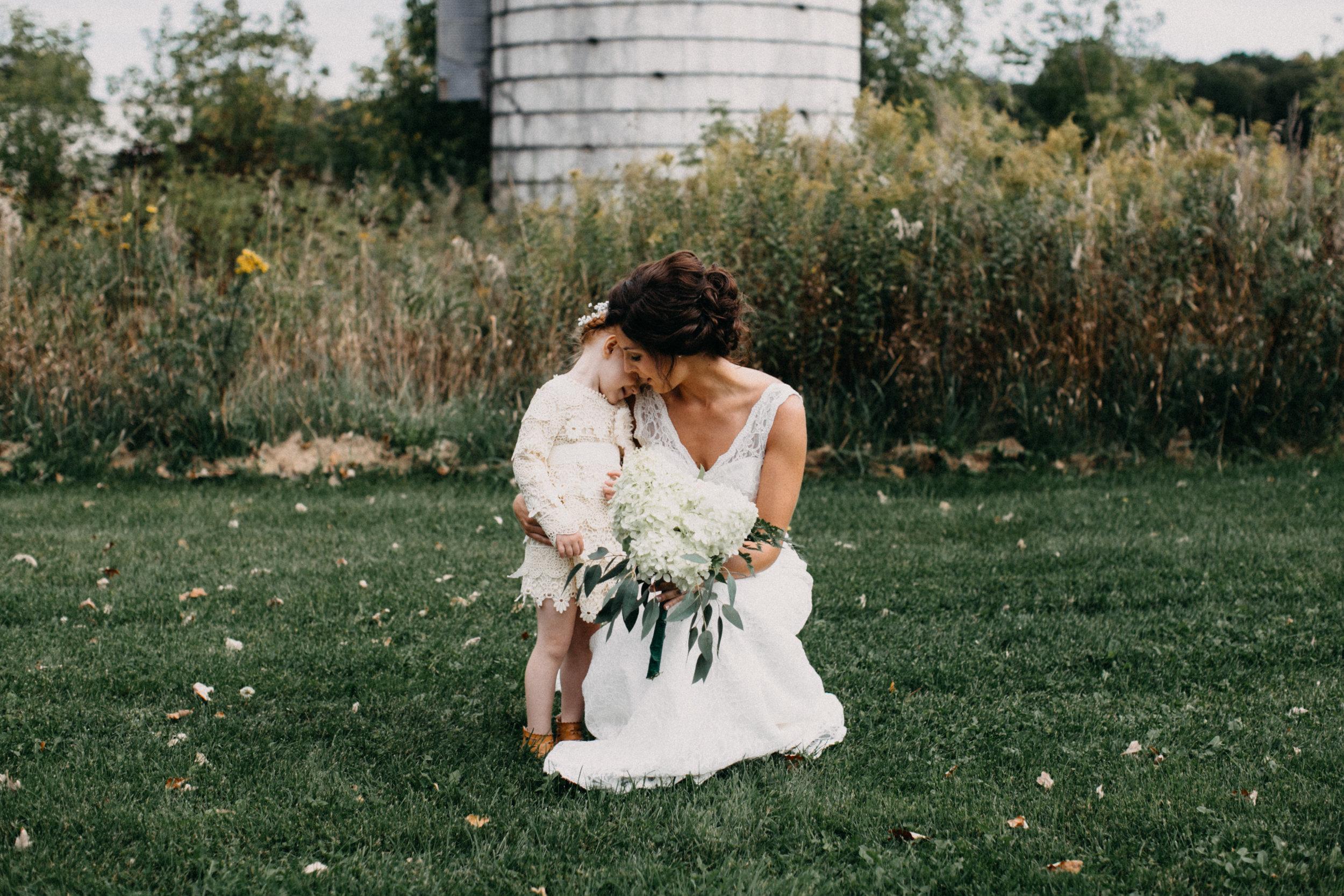 Barn wedding in Brainerd Minnesota