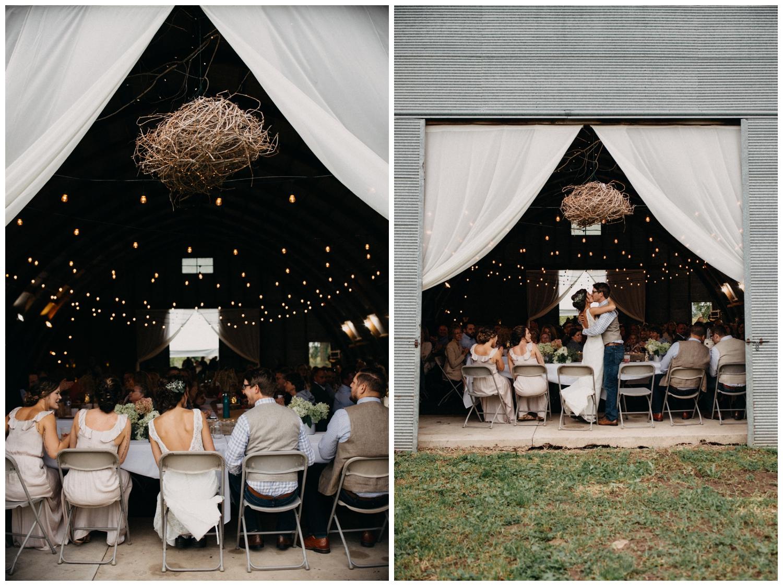 Rustic chic barn wedding in Brainerd Minnesota