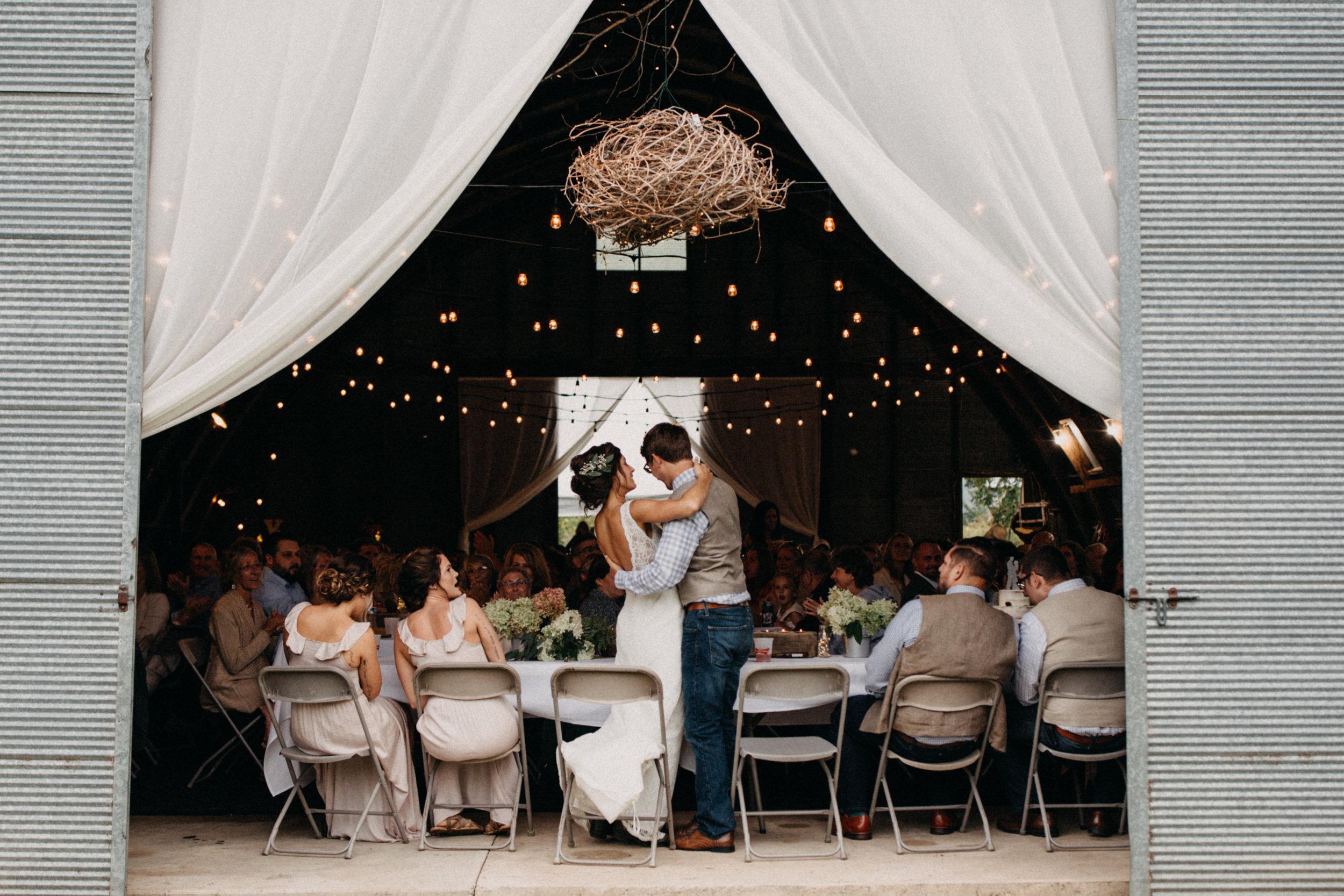 Elegant chic family farm wedding in Brainerd Minnesota