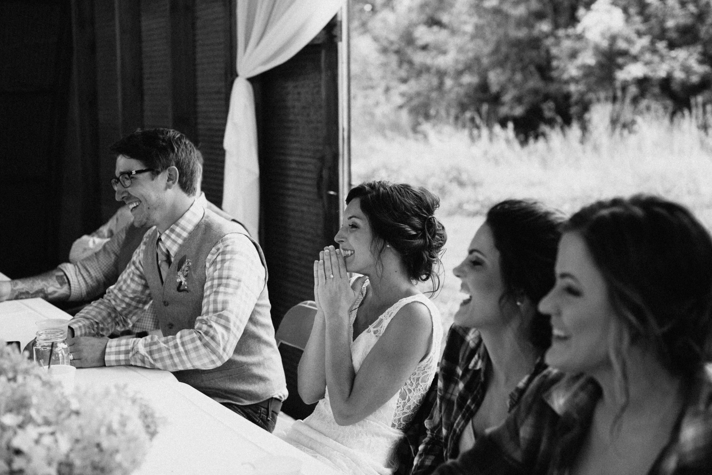 Brainerd Minnesota barn wedding