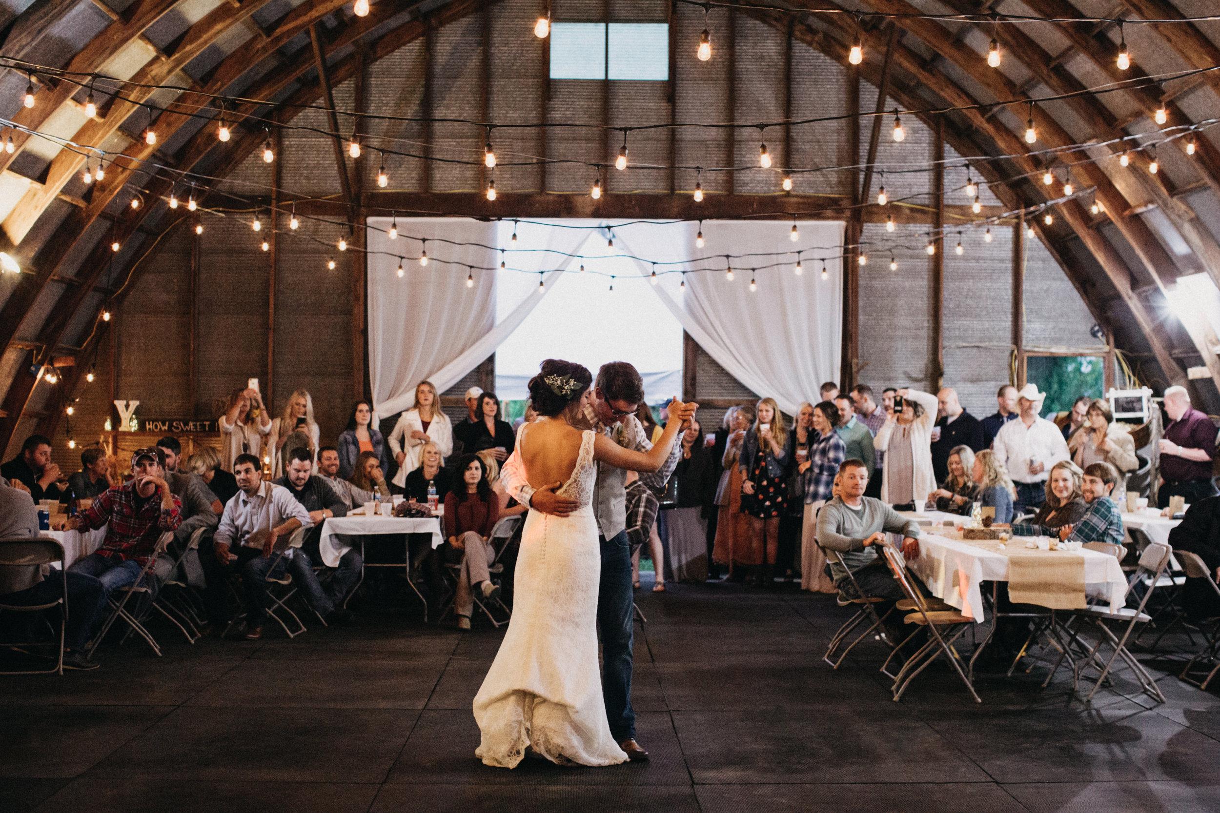 Romantic family farm wedding in Brainerd Minnesota