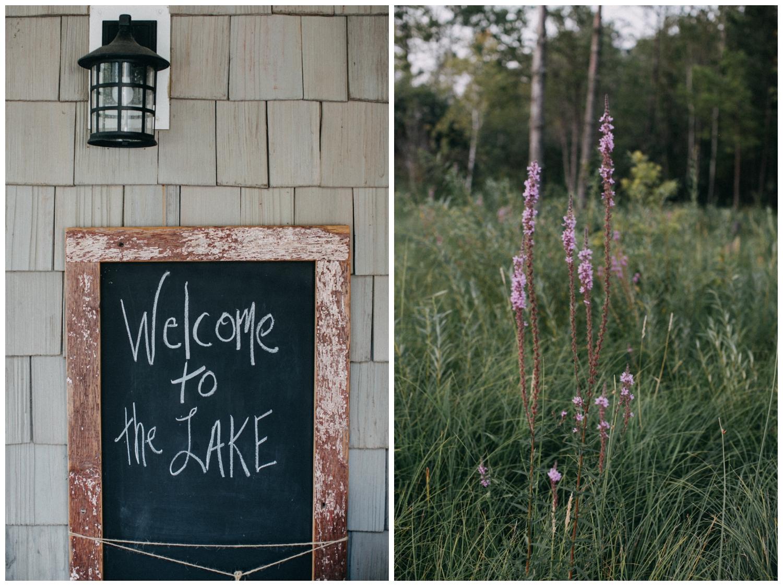 Lake Edward cabin wedding by Brainerd photographer Britt DeZeeuw