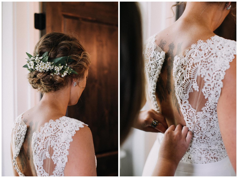 Northern Minnesota intimate cabin wedding in Brainerd