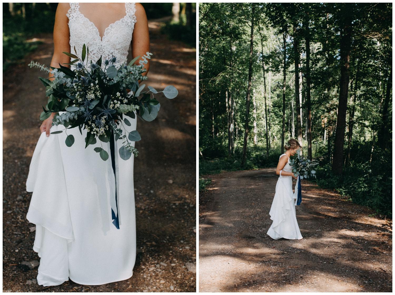 Lake Edward cabin wedding in Brainerd Minnesota