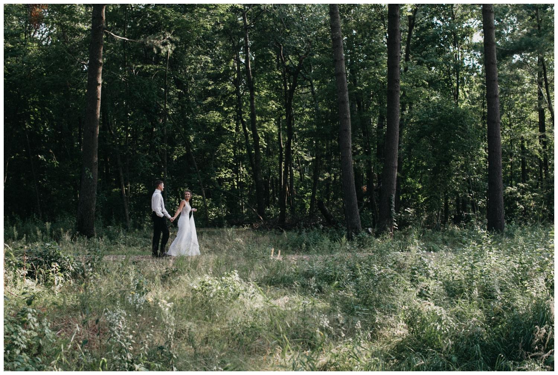 Northern MN beach wedding photographed by Britt DeZeeuw