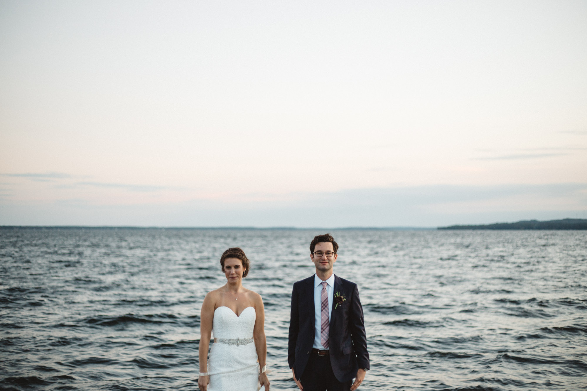 Grandview Lodge wedding on Gull Lake photographed by  Britt DeZeeuw