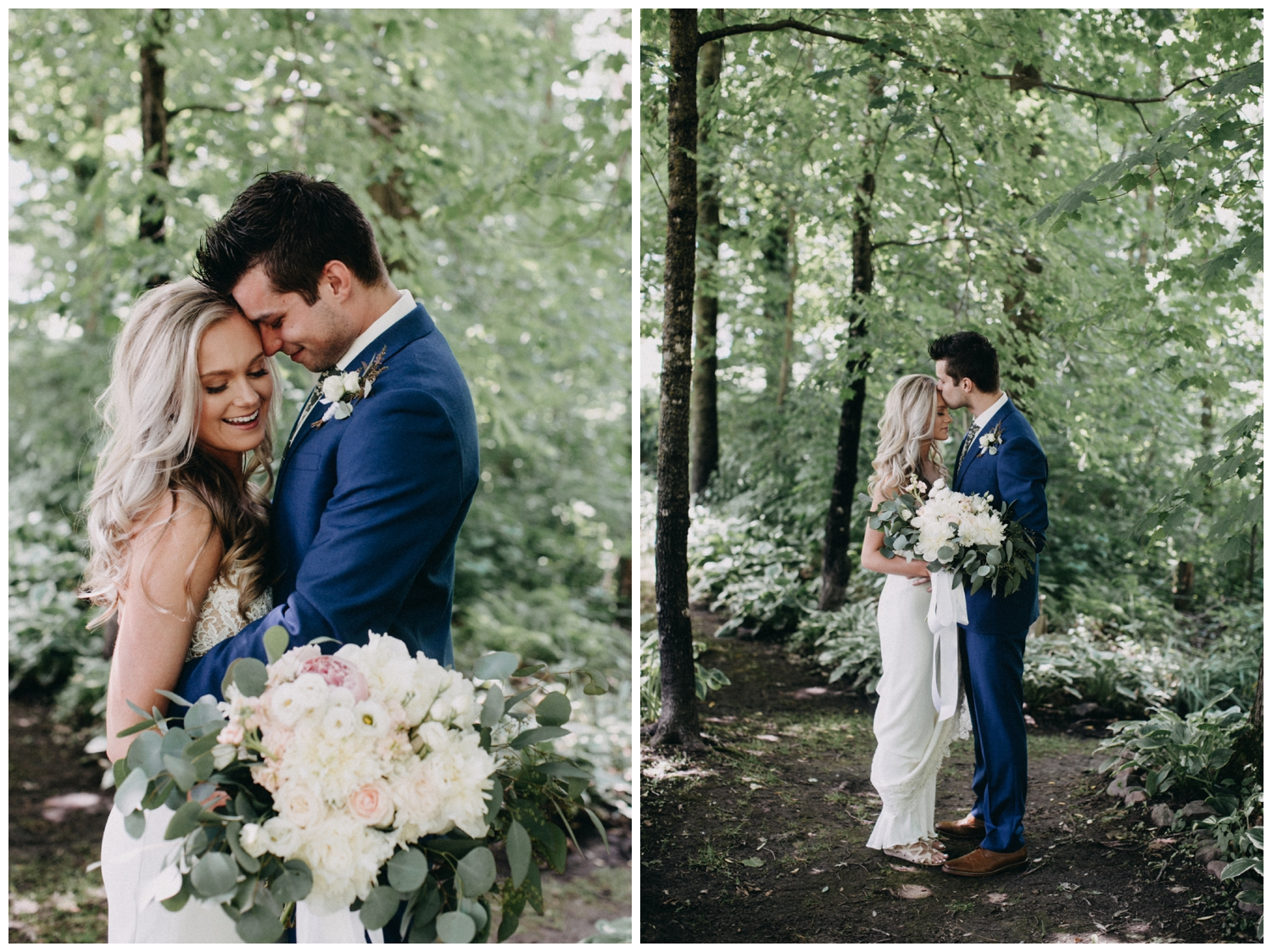Minnesota barn wedding at Creekside Farm photographed by Britt DeZeeuw