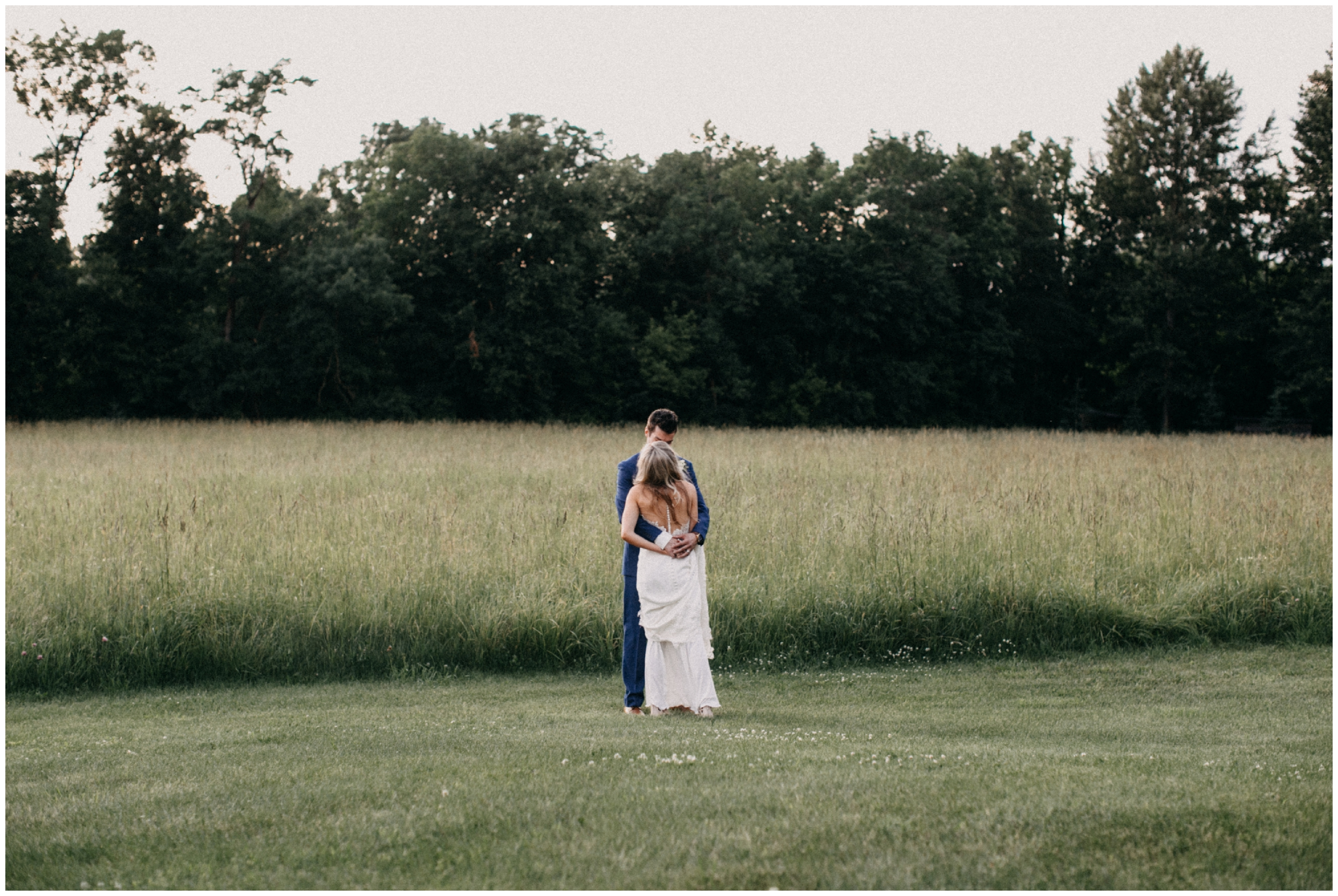 Romantic summer wedding at Creekside Farm