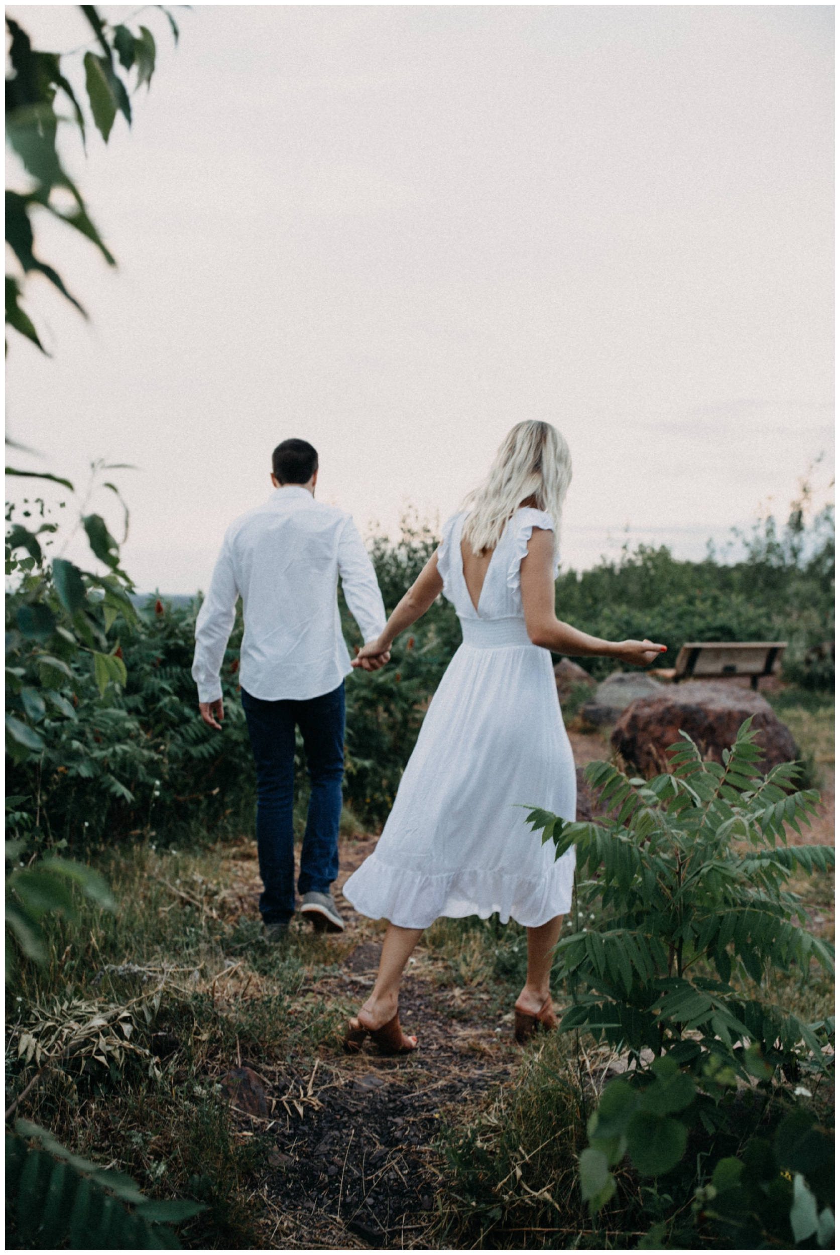Miner's Mountain engagement session by Britt DeZeeuw