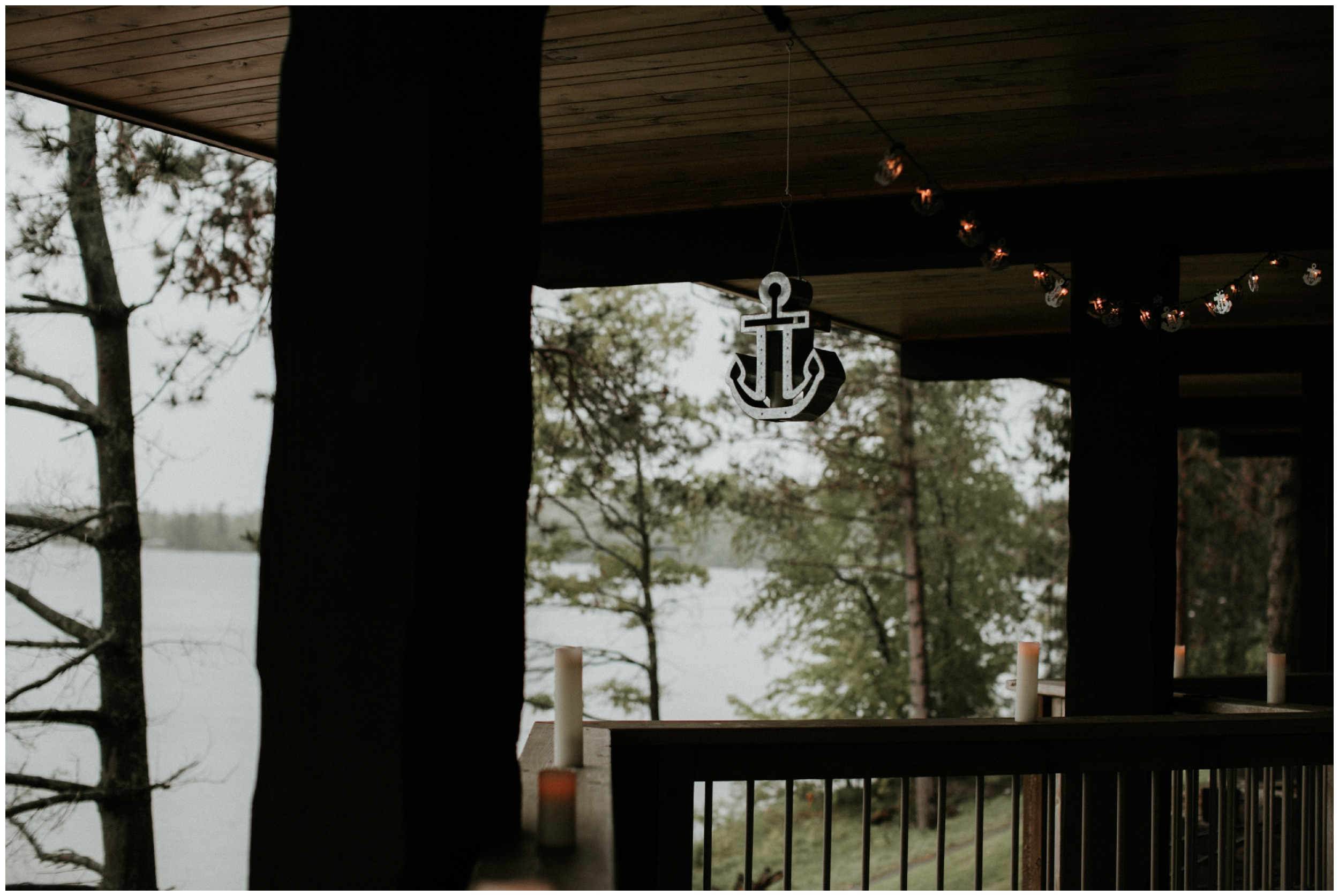 Nautical themed spring wedding at Madden's Resort