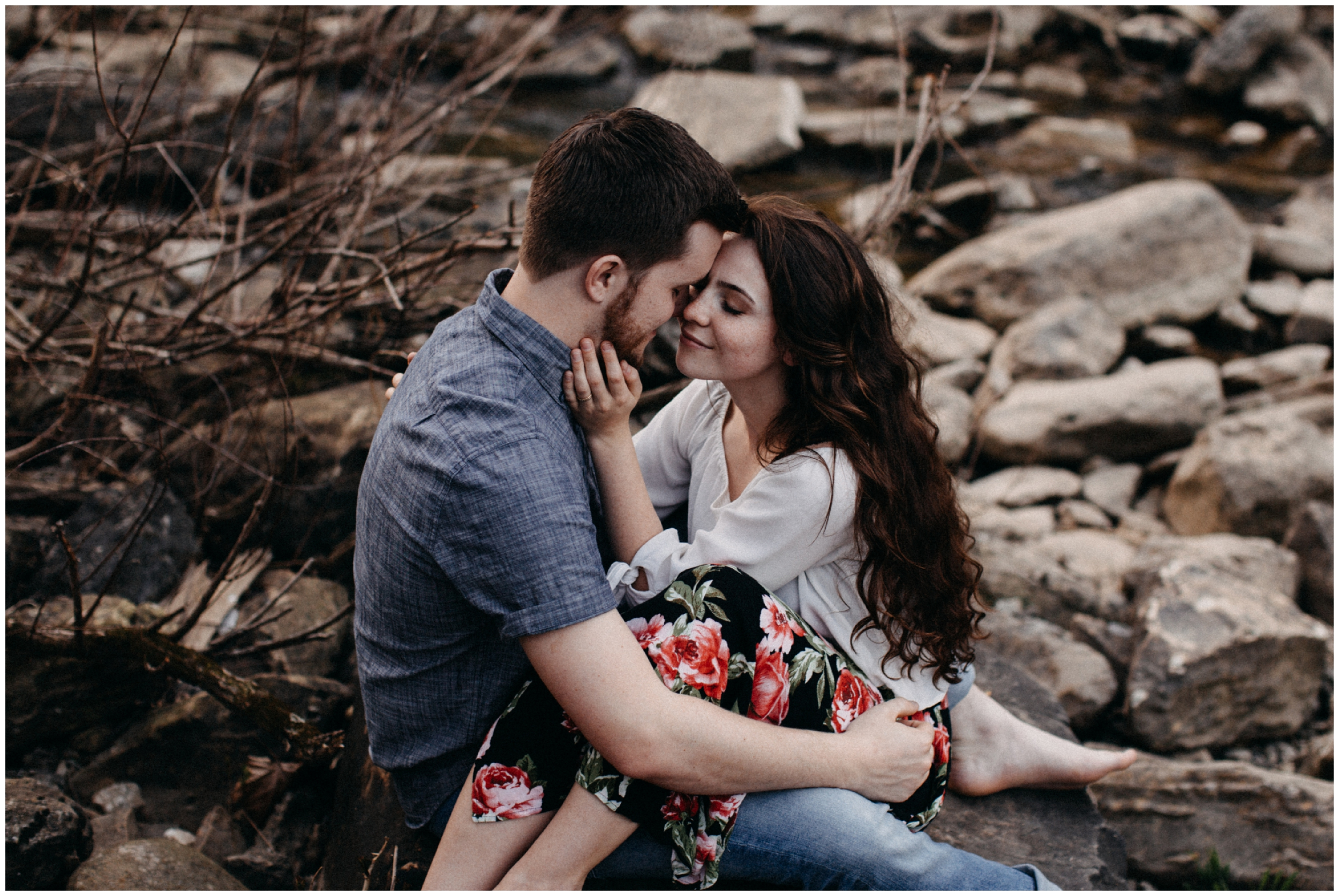 Destination engagement session near Nashville, TN photographed by travel wedding photographer Britt DeZeeuw