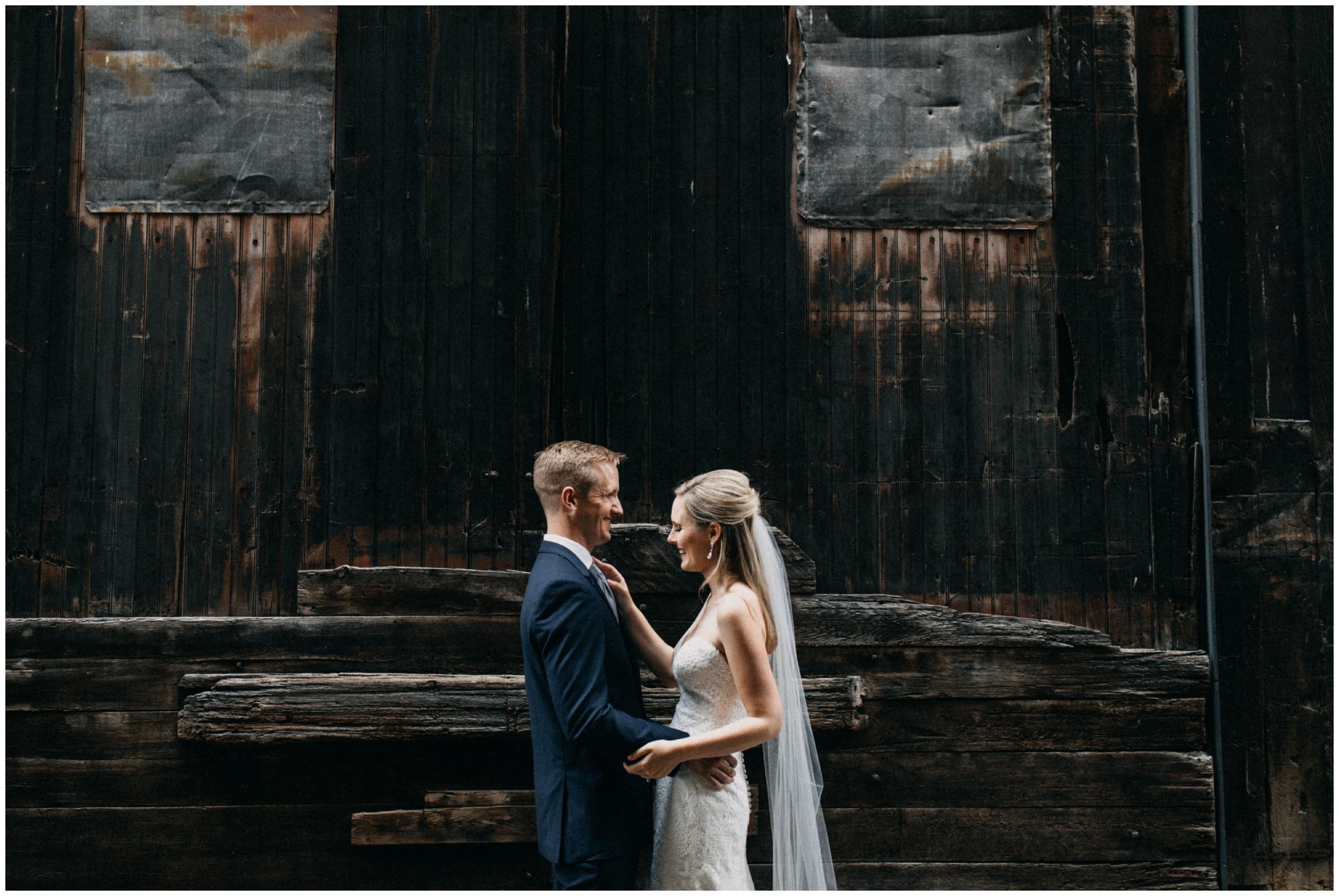 Minneapolis industrial wedding by Britt DeZeeuw