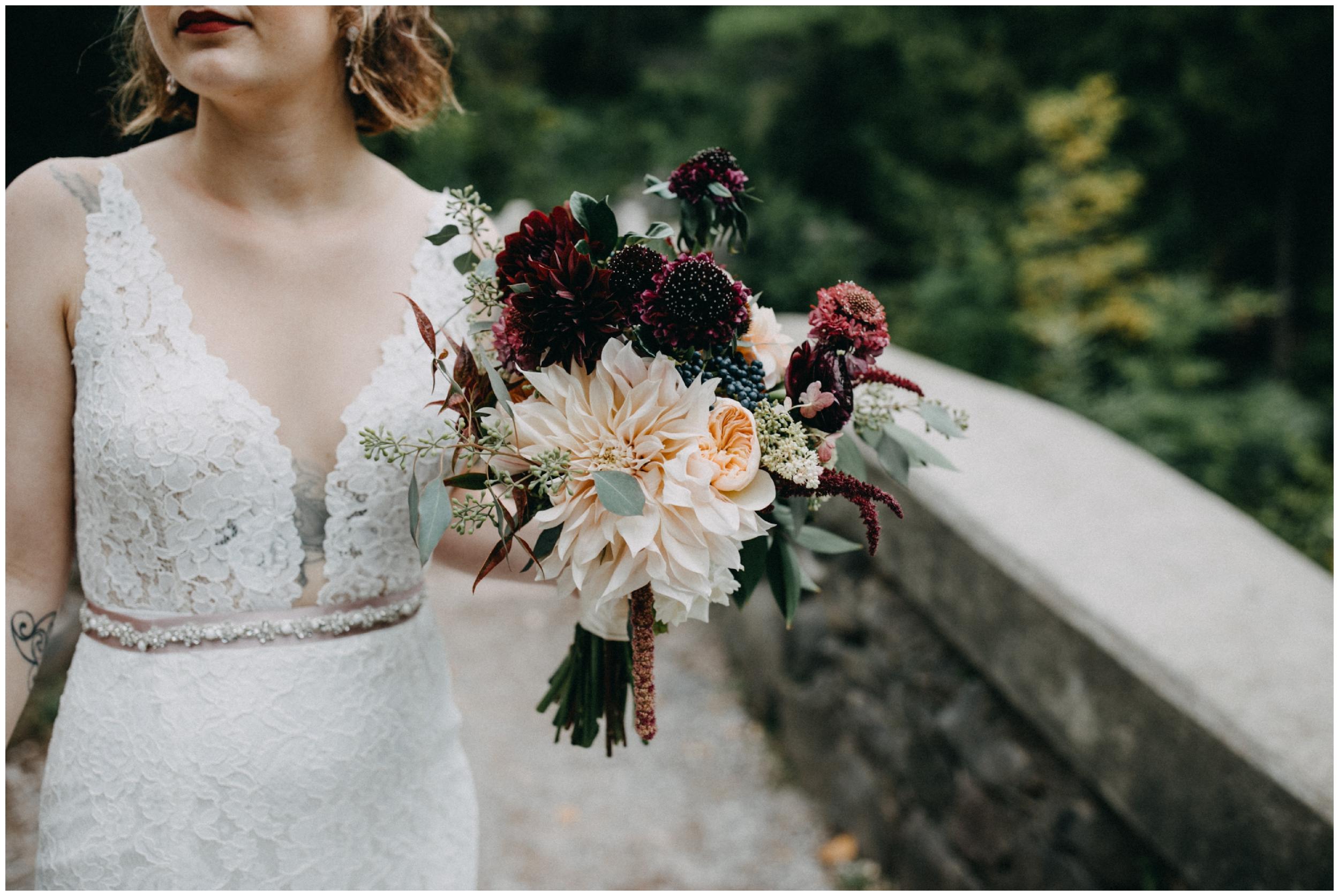 Untraditional wedding in Duluth photographed by Britt DeZeeuw
