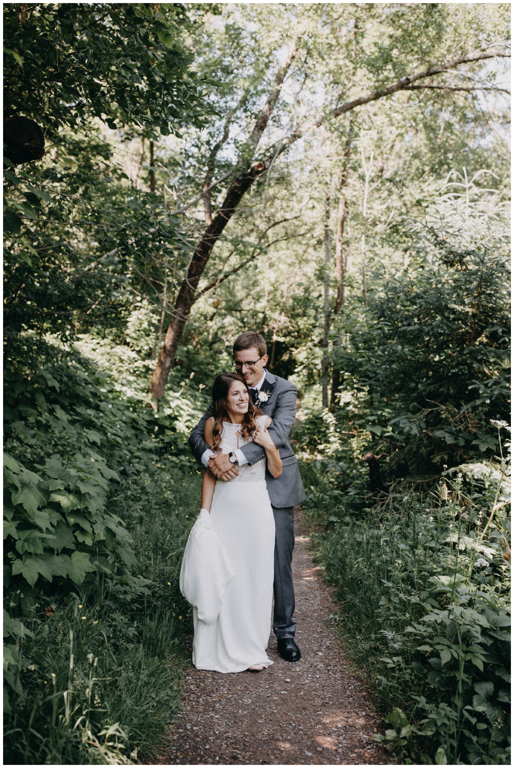 Duluth Minnesota summer wedding