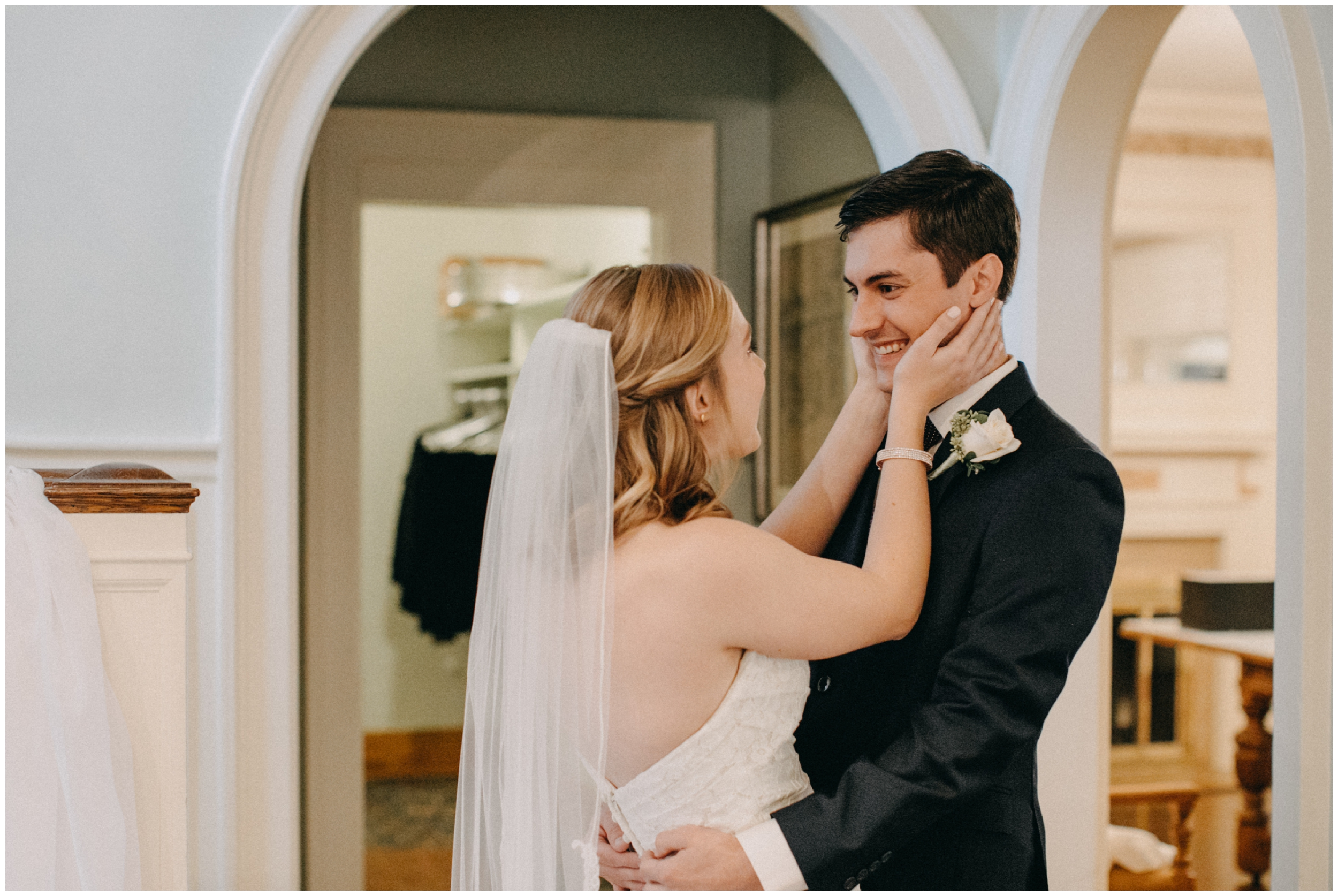 Classic and chic wedding at the St Paul College Club