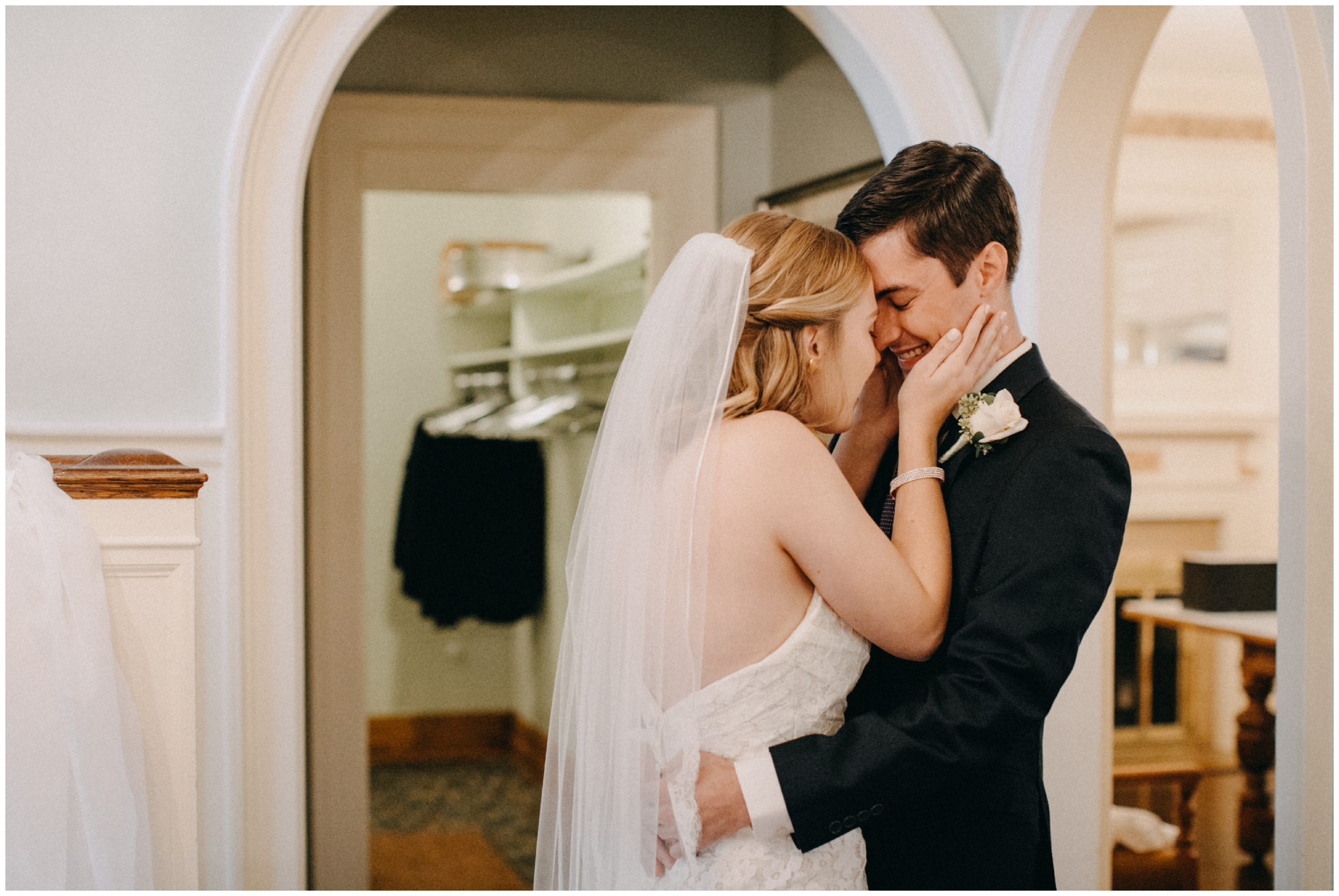 Romantic wedding at the St Paul College club
