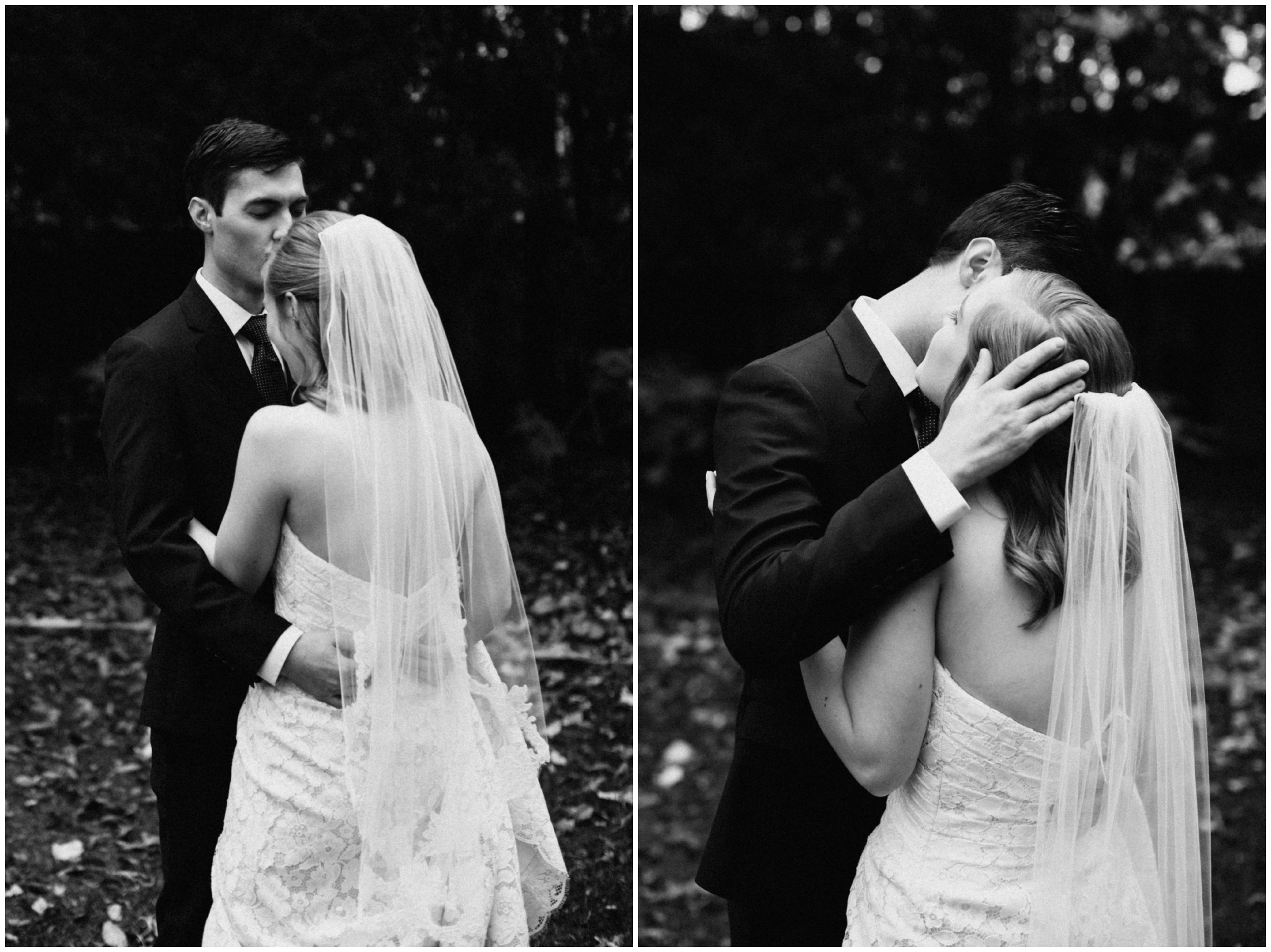 Romantic backyard wedding at the St Paul College Club
