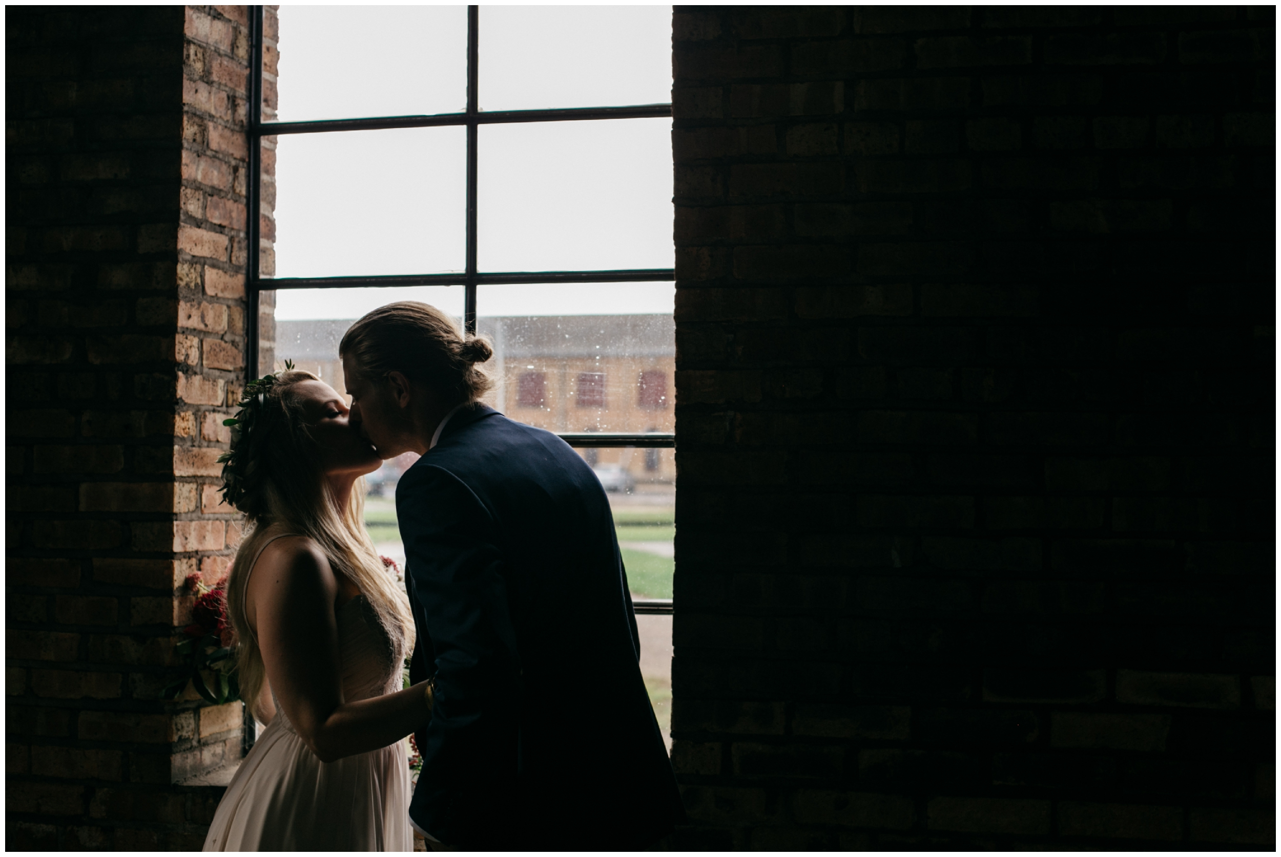 Industrial chic wedding at the NP Event Space