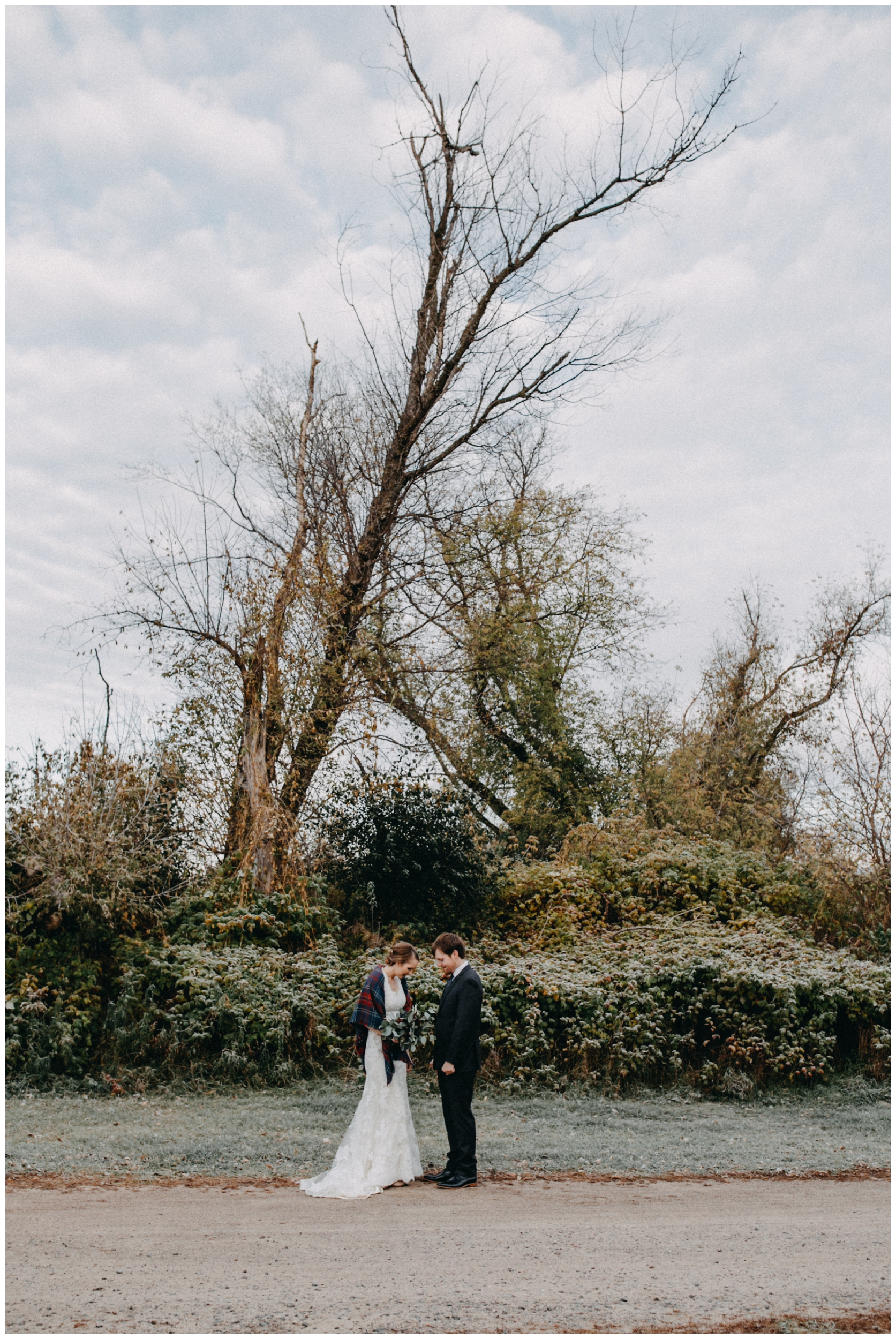 October wedding at the Northland Arboretum