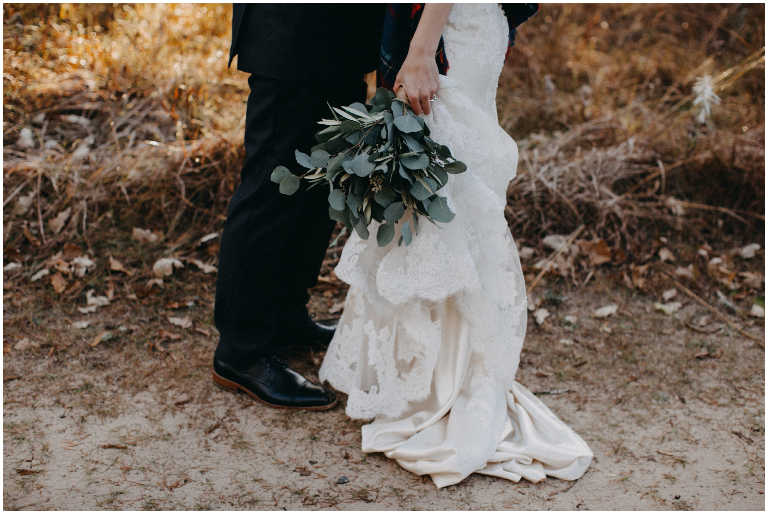 Simple and romantic wedding details at the Northland Arboretum in Brainerd Minnesota