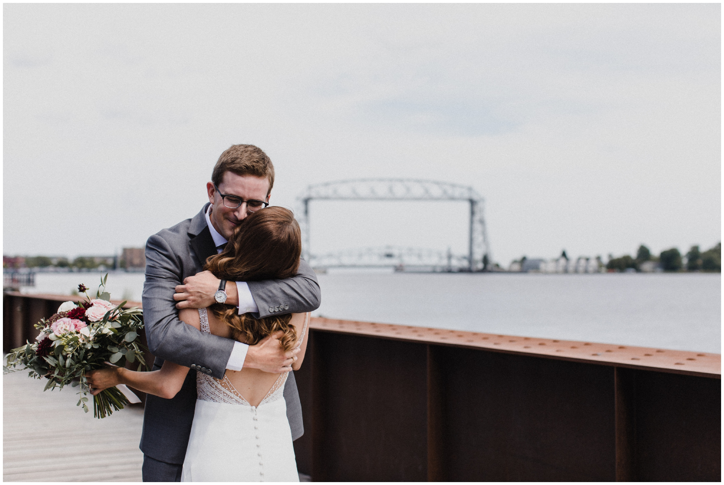 Duluth Minnesota industrial wedding