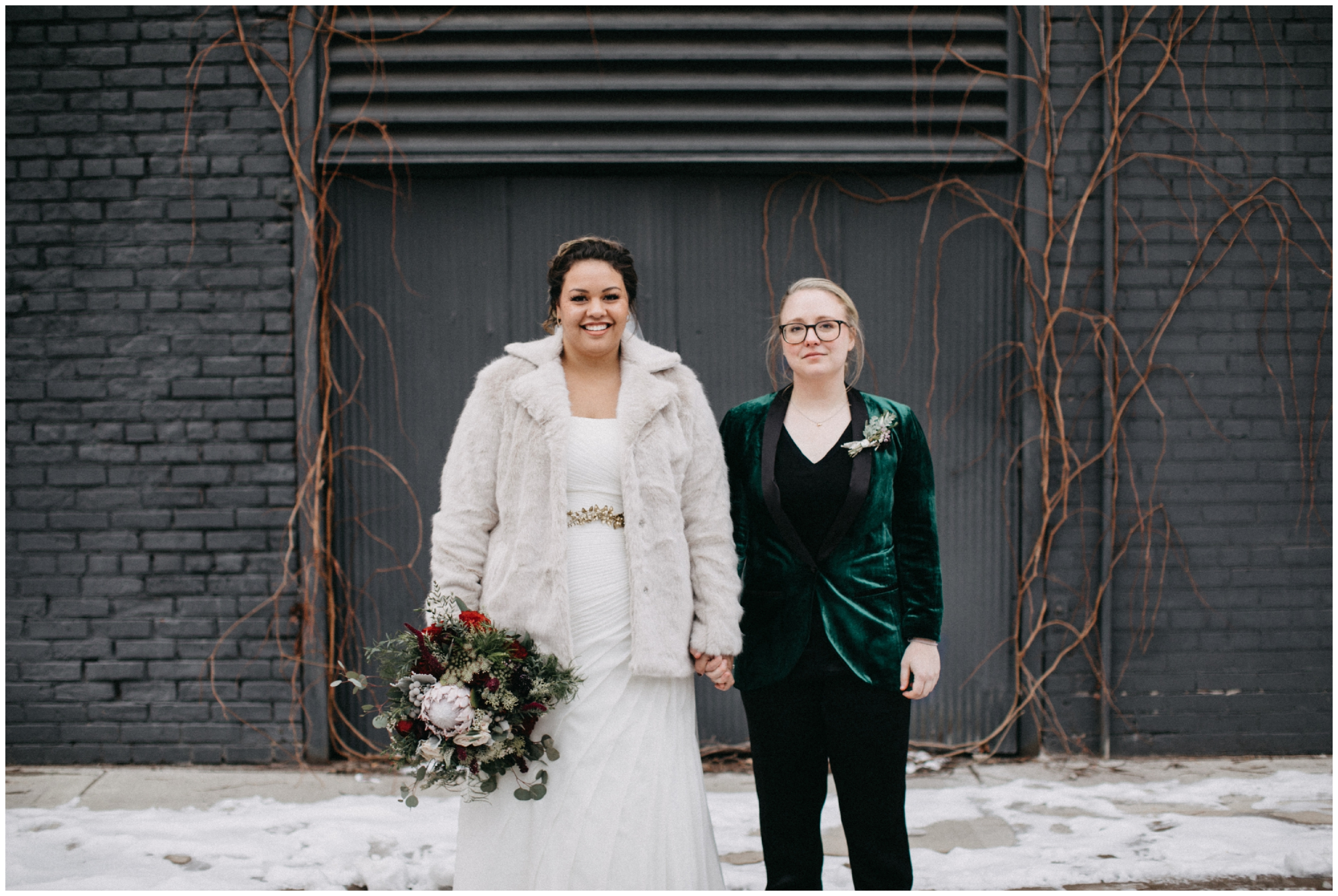 Modern industrial wedding at Paikka