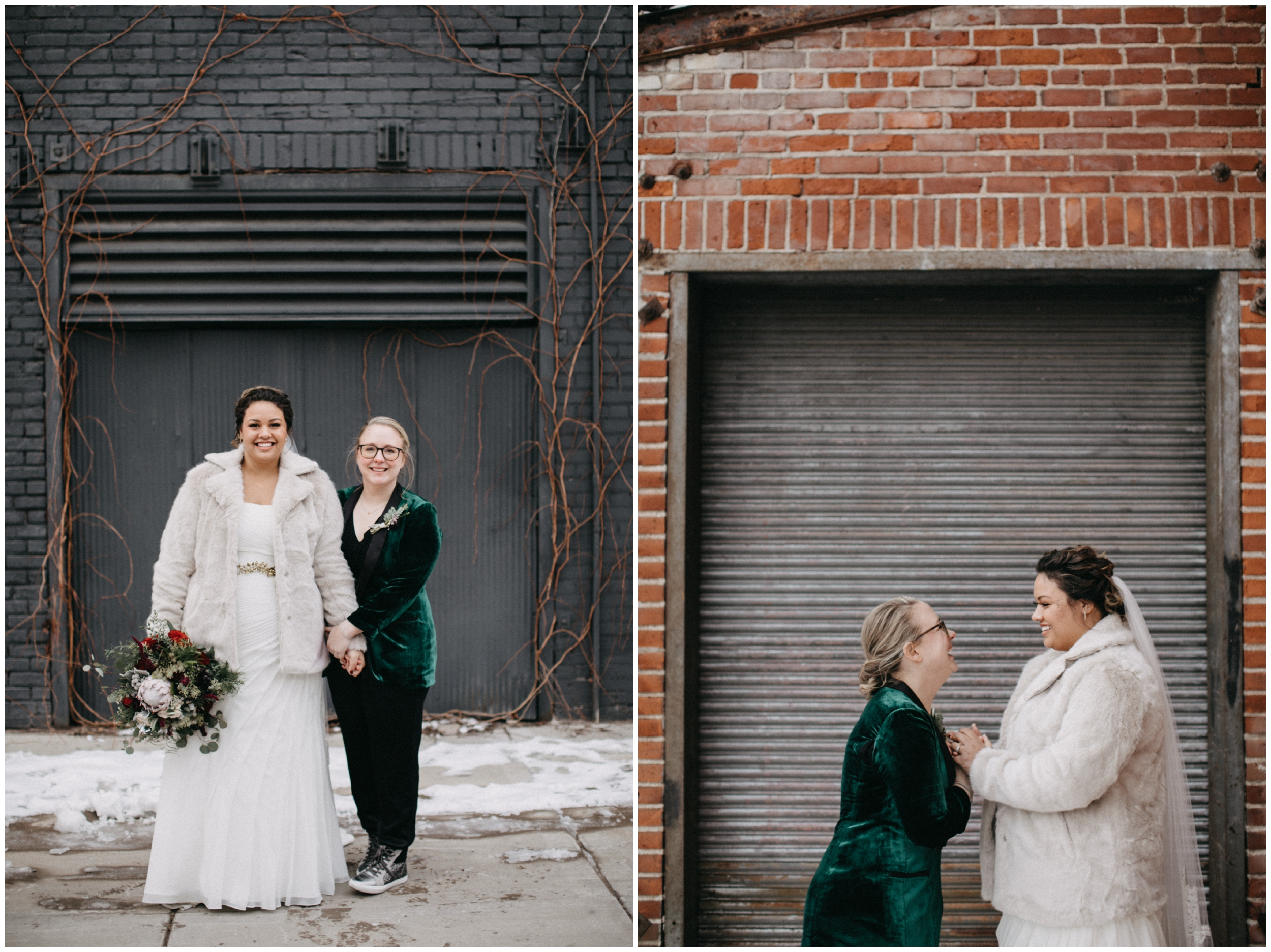 Industrial inspired wedding at Paikka in St paul