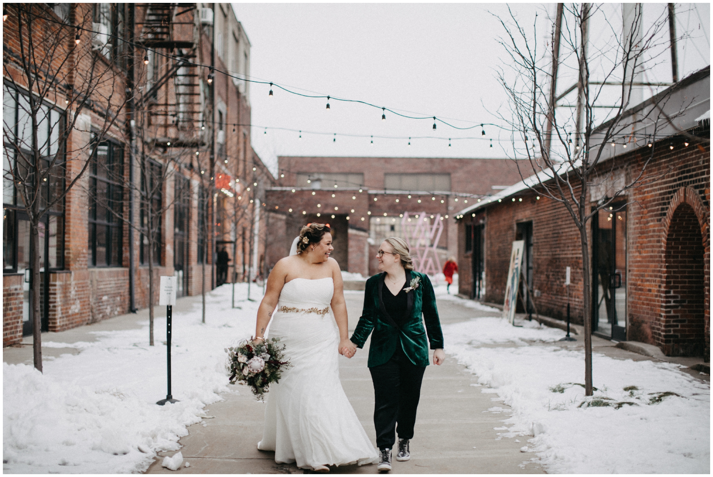 Minnesota winter wedding at Paikka in St Paul